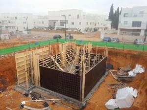 מפקח בניה מקצועי, בניית מרתף, בית בזמן תהליך הבנייה